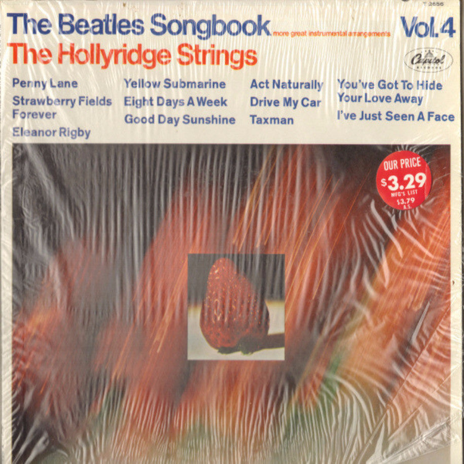 The Hollyridge Strings ‎– The Beatles Songbook Vol. 4 - Vinyl Record - Front Cover