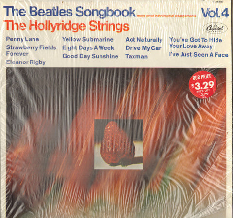 The Hollyridge Strings ‎– The Beatles Songbook Vol. 4 (1967) Vinyl Record
