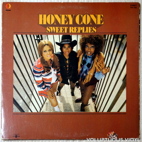Honey Cone ‎– Sweet Replies - Vinyl Record - Front Cover