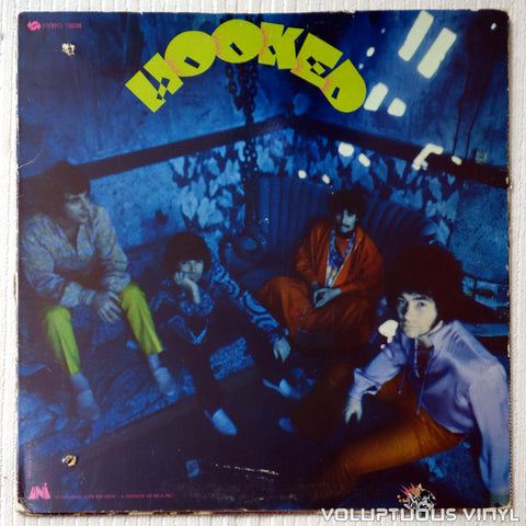 The Hook ‎– Hooked - Vinyl Record - Front Cover