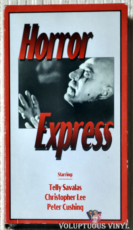 Horror Express VHS front cover
