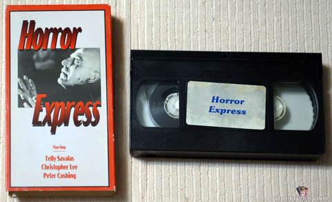 Horror Express VHS tape