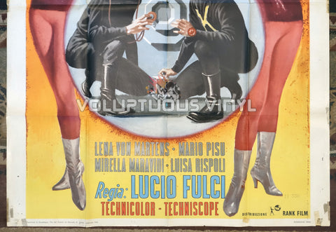 How We Robbed the Bank of Italy (1966) - Italian 2F Poster - Bottom Half