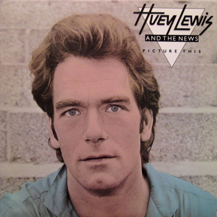 Huey Lewis & The News ‎– Picture This - Vinyl Record - Front Cover