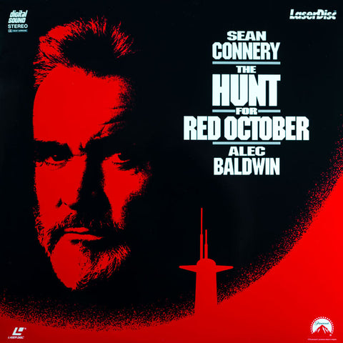 Hunt for Red October, The (1990) Sean Connery, Alec Baldwin LaserDisc