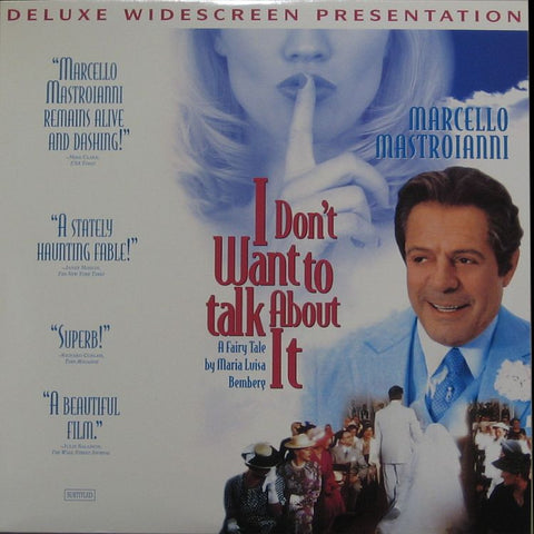 I Don't Want To Talk About It (1993) LaserDisc