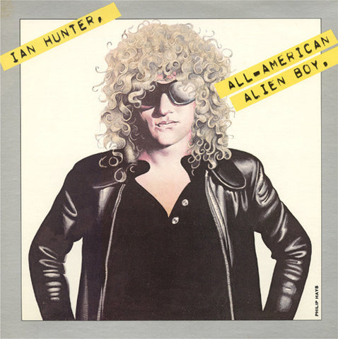 Ian Hunter ‎– All American Alien Boy (1976) Vinyl Record