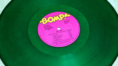 Iggy Pop & James Williamson ‎Kill City Limited Edition Green Vinyl Record