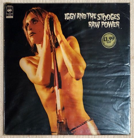 Iggy And The Stooges ‎Raw Power Front Cover Vinyl Record