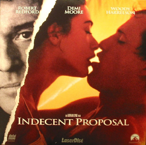 Indecent Proposal (1993) LaserDisc