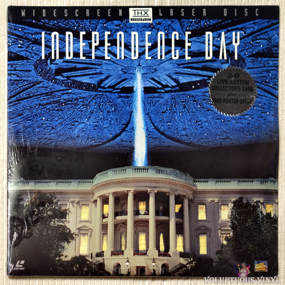 Independence Day: ID4 laserdisc front cover