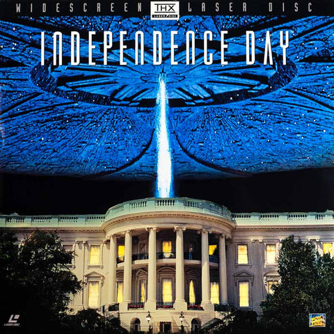 Independence Day: ID4 (1996) Will Smith LaserDisc