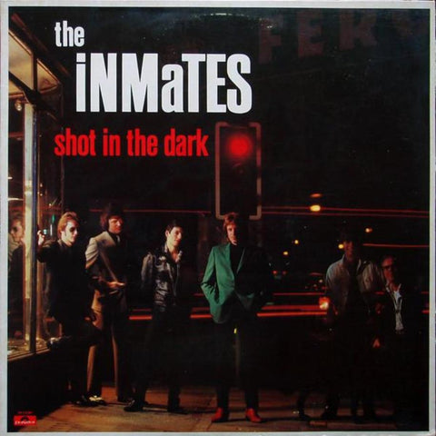 The Inmates ‎– Shot In The Dark vinyl record front cover