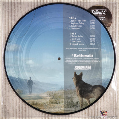 Inon Zur ‎– Fallout 4 Special Edition Soundtrack vinyl record side b