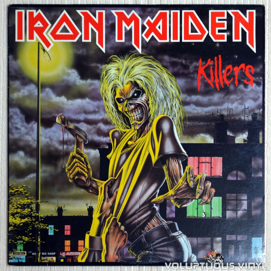 Iron Maiden ‎– Killers  - Vinyl Record - Front Cover