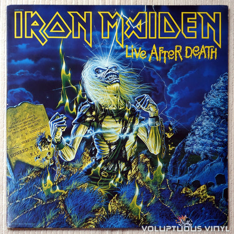 Iron Maiden ‎– Live After Death - Vinyl Record - Front Cover