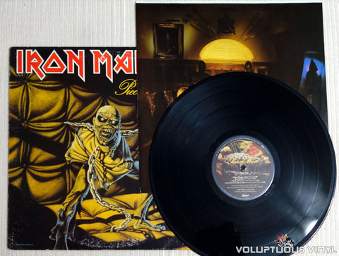 Iron Maiden ‎– Piece Of Mind - Vinyl Record