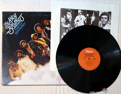 The Isley Brothers ‎– The Heat Is On vinyl record