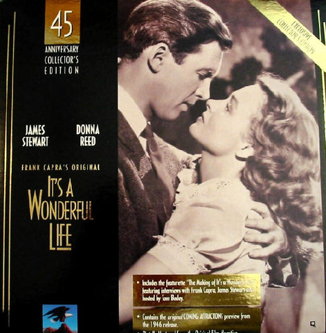 It's a Wonderful Life: 45th Anniversary (1946) LaserDisc