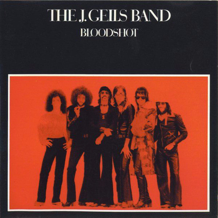 The J. Geils Band ‎– Bloodshot - Vinyl Record - Front Cover