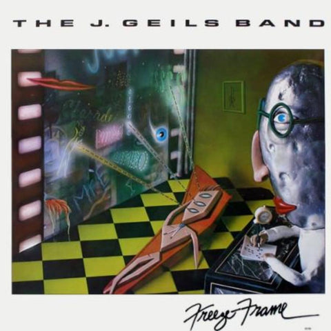 The J. Geils Band ‎– Freeze-Frame - Vinyl Record