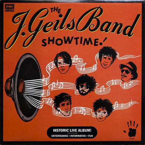The J. Geils Band ‎– Showtime! - Vinyl Record