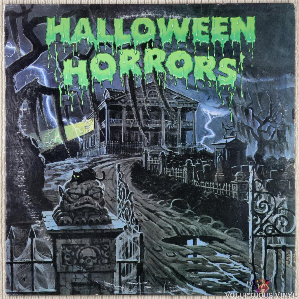 J. Robert Elliot ‎– Halloween Horrors: The Sounds Of Halloween (And Other Useful Effects) vinyl record front cover