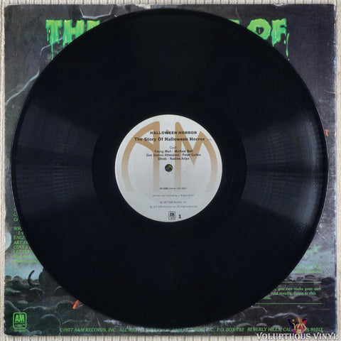 J. Robert Elliot ‎– Halloween Horrors: The Sounds Of Halloween (And Other Useful Effects) vinyl record