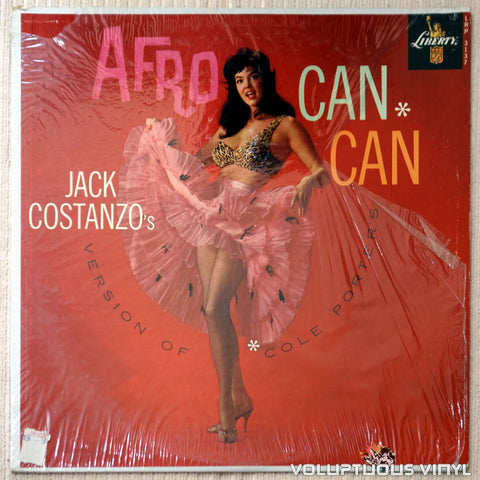 Jack Costanzo ‎– Afro Can-Can - Vinyl Record - Front Cover