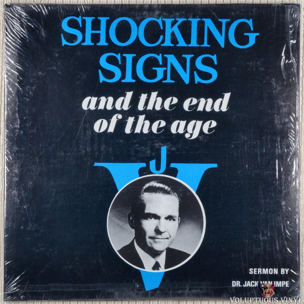 Jack Van Impe ‎– Shocking Signs And The End Of The Age vinyl record front cover