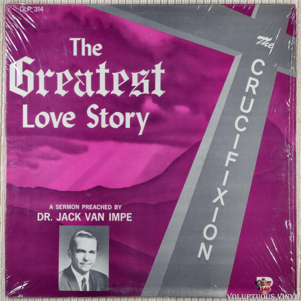 Jack Van Impe ‎– The Greatest Love Story vinyl record front cover