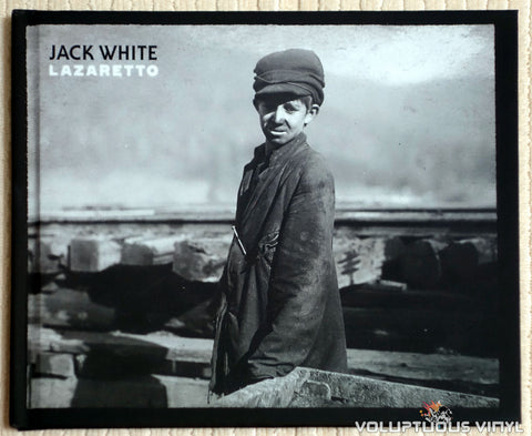 Jack White ‎– Lazaretto - Vinyl Record - Book