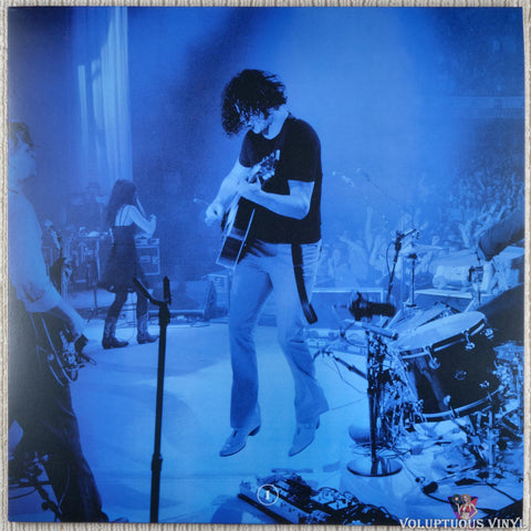 Jack White ‎– Live At The Masonic Temple album I vinyl record front cover