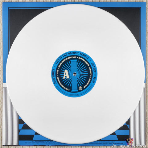 Jack White ‎– Live At The Masonic Temple album I vinyl record