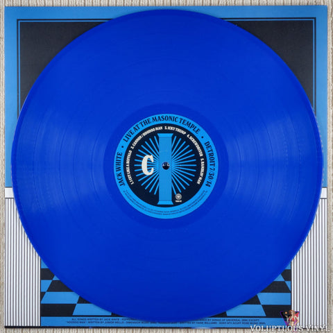 Jack White ‎– Live At The Masonic Temple album II vinyl record