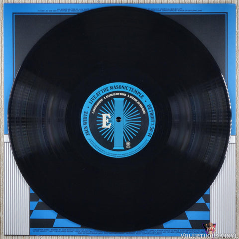 Jack White ‎– Live At The Masonic Temple album III vinyl record
