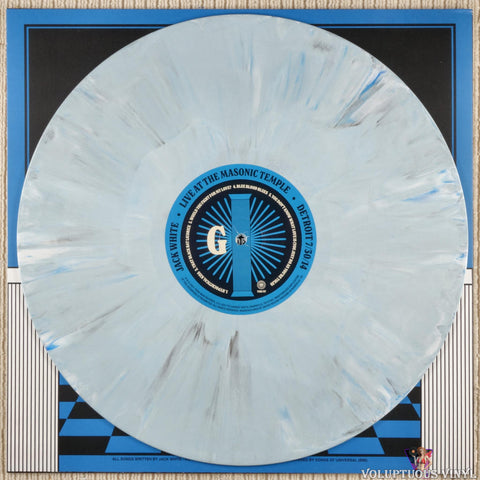 Jack White ‎– Live At The Masonic Temple album IV vinyl record