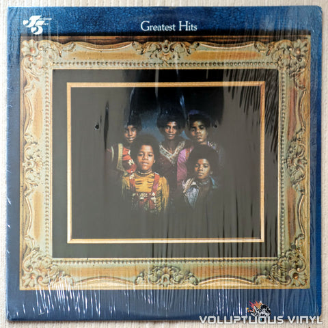 The Jackson 5 ‎– Jackson 5 Greatest Hits - Vinyl Record - Front Cover