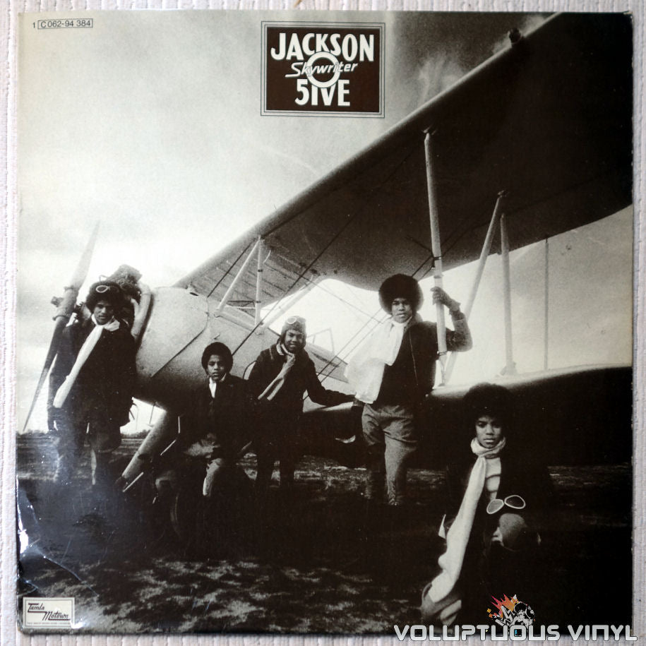 The Jackson 5 - Skywriter - Vinyl Record - Front Cover