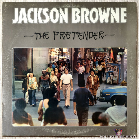 Jackson Browne ‎– The Pretender vinyl record front cover