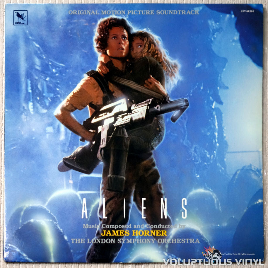 James Horner ‎– Aliens - Vinyl Record - Front Cover