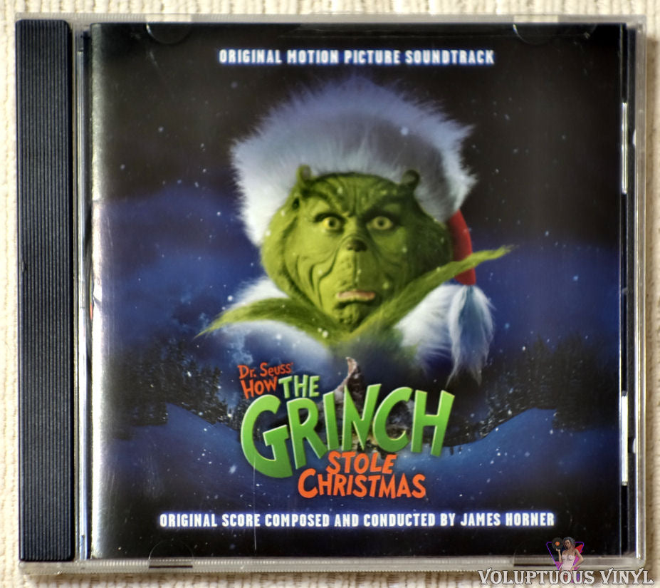 James Horner ‎– Dr. Seuss' How The Grinch Stole Christmas CD front cover