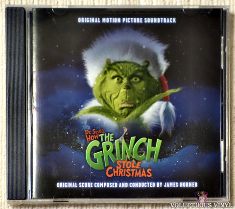 James Horner ‎– Dr. Seuss' How The Grinch Stole Christmas (2000)