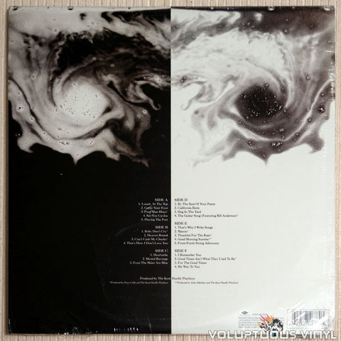 Jamey Johnson ‎– The Guitar Song - Vinyl Record - Back Cover