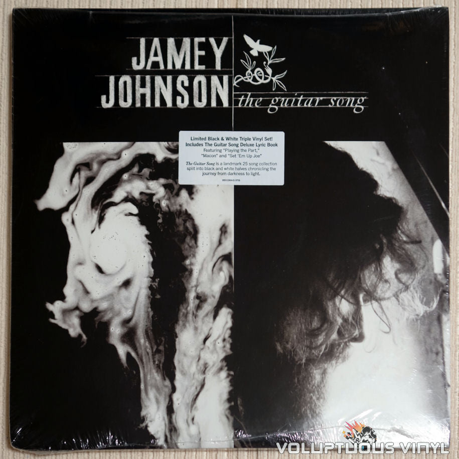 Jamey Johnson ‎– The Guitar Song - Vinyl Record - Front Cover