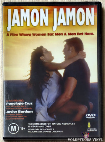 Jamon Jamon DVD front cover