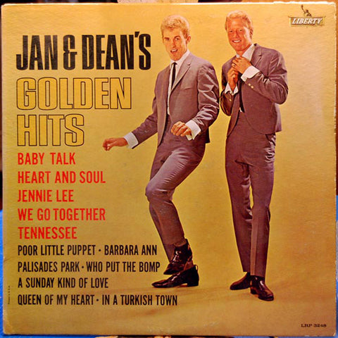 Jan & Dean ‎– Jan & Dean's Golden Hits (1962) Cheap Vinyl Record
