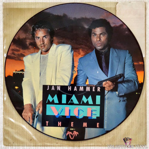 "Jan Hammer / Glenn Frey ‎– Miami Vice Theme / You Belong To The City (?) 12"" Single, Picture Disc"