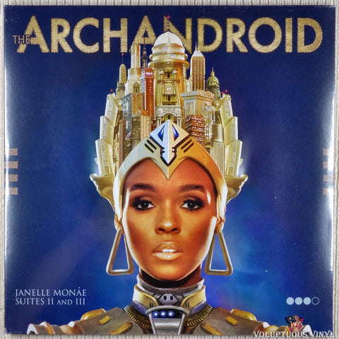 Janelle Monáe ‎– The Archandroid (2010) 2xLP, Europe Press Sealed