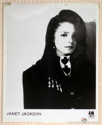 Janet Jackson - A&M Records - Promotional Photo